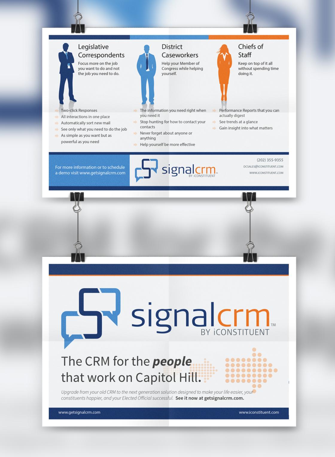 Signal CRM Post Card